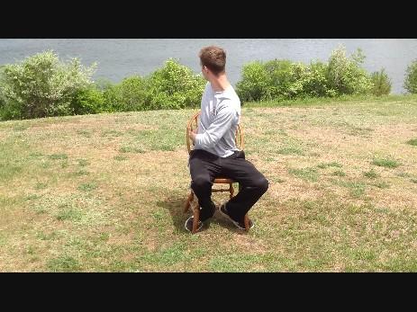 sitting twist