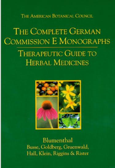Commission E, the German FDA